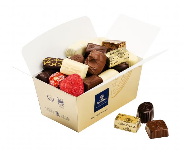 Belgische Chocolatier Leonidas zoekt ondernemer(s) voor het openen van Speciaalzaken of Shop-in-Shop. Bron: FranchiseFormules.NL