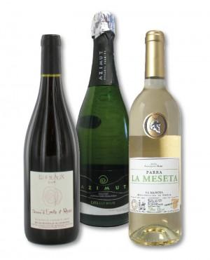 Natudis krijgt eervolle vermelding voor maar liefst 3 biologische wijnen