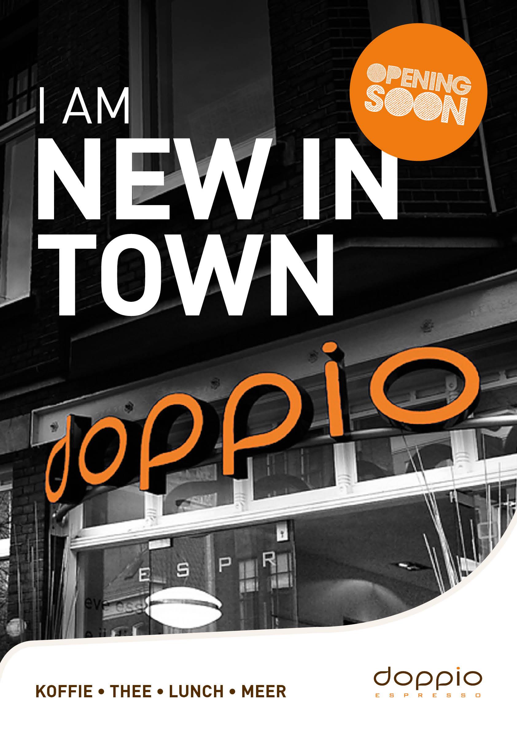 De crowdfundingactie van Doppio Espresso is succesvol verlopen. Daarmee is de weg vrij om een geweldige zaak te openen aan de Nobelstraat.