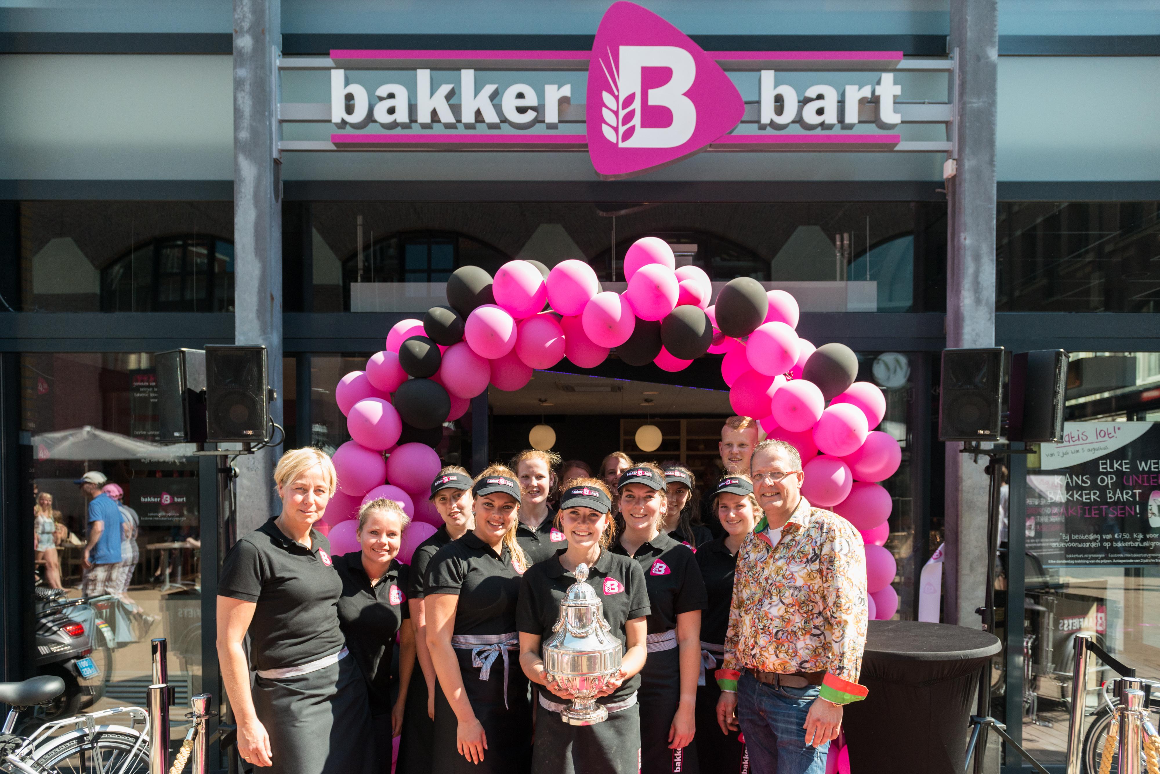 Bakker Bart aan de Grote Markt in Groningen is intensief verbouwd en dient tot voorbeeld voor toekomstig te openen en te verbouwen Bakker Bart-winkels. Bron: FranchiseFormules.NL