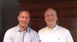 MCR Retailminds B.V., het bedrijf van Erik van Koert (r.) en Hans Hagoort, is aangesloten als partner bij de FranchiseFormules.NL Adviestak. Bron: FranchiseFormules.NL