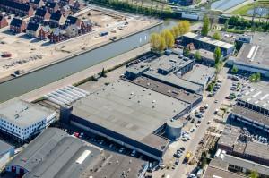 Selfstorage formule City Box zoekt franchisenemer voor vestiging in Logistieke Hub Amsterdam (luchtfoto). Bron: FranchiseFormules.NL