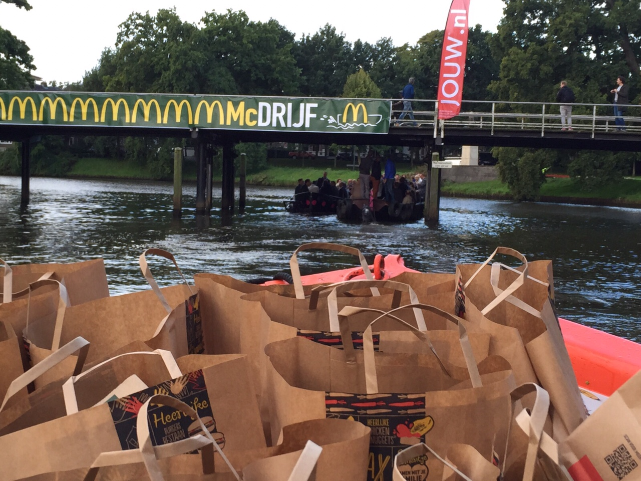 Eerste Nederlandse 'McDrijf' gespot in Zwolle. Bron: FranchiseFormules.NL