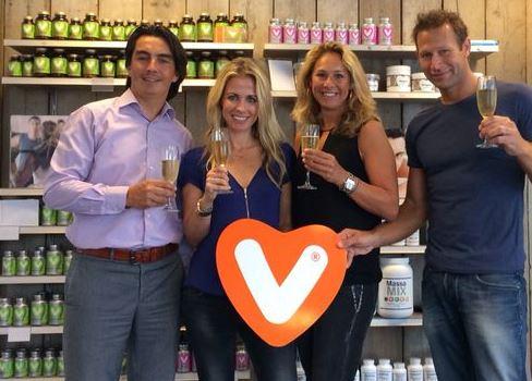 Vitaminstore en gezondheidsplatform Vivonline van Vivian Reijs gaan partnership aan. Bron: FranchiseFormules.NL