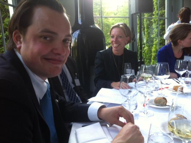 Crijn Janssen, Algemeen Directeur Straetus Incasso Nederland op de ALV van de Nederlandse Franchise Vereniging