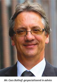 Mr. Cees Bothof: gespecialiseerd in advies