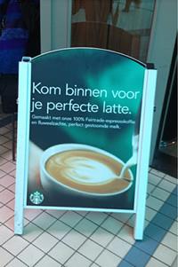 Welkom bij Starbucks