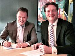 vlnr : Marc Steentjes & Jacob Nammensma