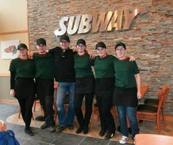 Team Subway Utrecht Campus Max.