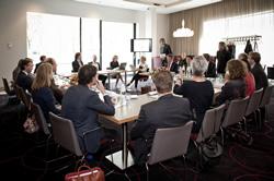 Deelnemers aan de ronde-tafeldiscussie van Accor Hotels Nederland (foto: Christiaan Krop)