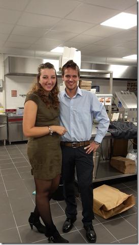 Op 8 december ging Jacco Klootwijk als jongste franchisenemer van burgerme van start in Rotterdam-Oost. Bron: FranchiseFormules.NL