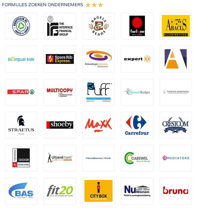 Opportunity Knocks: Formules zoeken ondernemers! Bekijk deze formuleprofielen onze community http://www.FranchiseFormules.NL. Bron: FranchiseFormules.NL. Copyright 2014