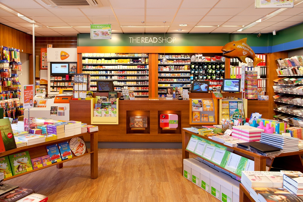 The Read Shop opende in de eerste 6 maanden van 2016 al 12 winkels. Bron: FranchiseFormules.NL