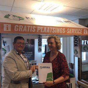 Marktmeester gaat samenwerking aan met Koopplein.nl