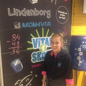 Onderneemster Naomi Jansen (23) opent met Vital4Skool in Leek