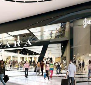 Vier Inditex-winkels openen in Westfield Mall of the Netherlands