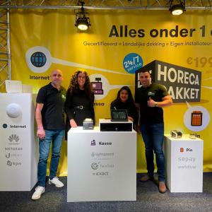 Belcentrale succesvol met introductie Horecapakket op Horecava