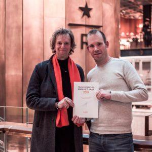 Kaldi Alkmaar franchisenemer van het jaar 2019